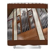 Organ Pipes Shower Curtain