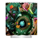 Organic Abstract 3 Shower Curtain