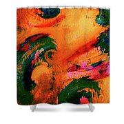 Organic Clash Shower Curtain