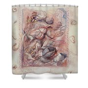 Organic Co-existence Shower Curtain
