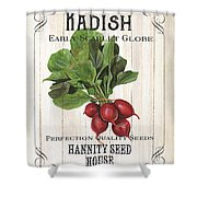 Organic Seed Packet 3 Shower Curtain