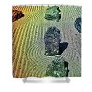 Organized Tranquility  Shower Curtain