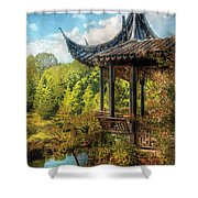 Orient - From A Chinese Fairytale Shower Curtain