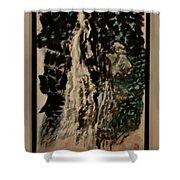 Oriental Falls Shower Curtain