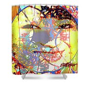 Oriental Garden Moon Shower Curtain