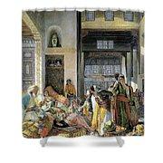 Orientalism Shower Curtain