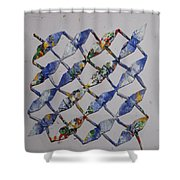 Origami Cranes Shower Curtain