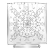 Origin Shower Curtain
