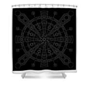 Origin Inverse Shower Curtain