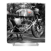 Original Cafe Racer Shower Curtain