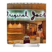Original Joe's Dynamic  Shower Curtain