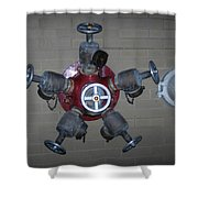 Original Male Pipe Shower Curtain