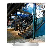 Original Old Stairs Shower Curtain