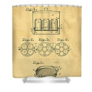 Original Patent For Canning Jars Shower Curtain