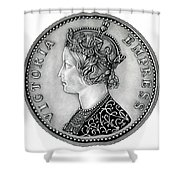 Original Silver Victoria Empress Shower Curtain