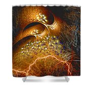 Origination Shower Curtain