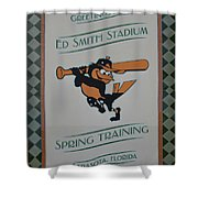 Orioles Spring Training Shower Curtain