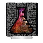 Orion Alchemy Vial Shower Curtain