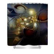 Orion's Pursuit Shower Curtain