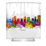 Orlando Florida Cityscape 13 Shower Curtain