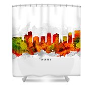 Orlando Florida Cityscape 15 Shower Curtain