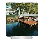 Orlando Photography Deck Shower Curtain