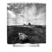 Orme Rocks Shower Curtain