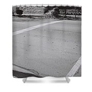 Ormsby Ave. 7 Bw Shower Curtain