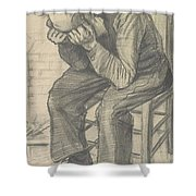 orn Out The Hague  November 1882 Vincent van Gogh 1853  1890 Shower Curtain