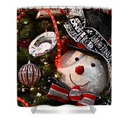 Ornament 239 Shower Curtain