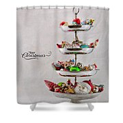 Ornament Compote Shower Curtain