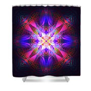 Ornament Of Light Shower Curtain