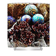 Ornaments 6 Shower Curtain