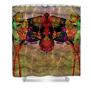 Ornate Brocade Shower Curtain