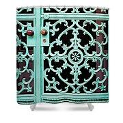 Ornate Doors Shower Curtain