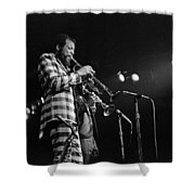 Ornette Coleman On Trumpet Shower Curtain