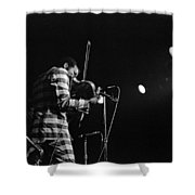 Ornette Coleman On Violin Shower Curtain