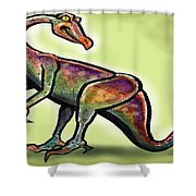 Ornithomimus Shower Curtain