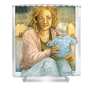 Orphans And Widows Shower Curtain