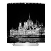 Orszaghaz At Night Shower Curtain
