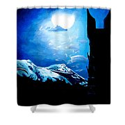 Orthanc Rescue Shower Curtain