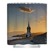 Orthodox Church Shower Curtain
