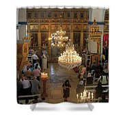 Orthodox Mass Shower Curtain
