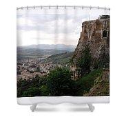 Orvieto Italy Shower Curtain