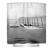 Orville Wright, 1901 Shower Curtain