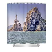 Oryukdo Islands, Busan, South Korea Shower Curtain