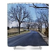 Osage County Road Shower Curtain