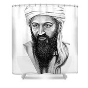 Osama Bin Laden Shower Curtain
