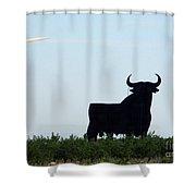 Osborne Bull 3 Shower Curtain