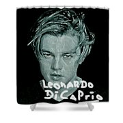 Oscar Goes To Leonardo Di Caprio Shower Curtain